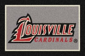 Milliken Team Spirit University Of Louisville Cardinals Rug