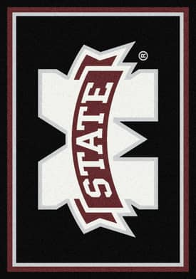 Milliken Team Spirit University Of Mississippi State Rug