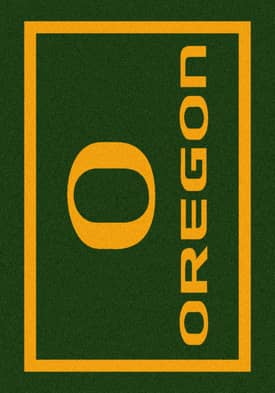 Milliken Team Spirit University Of Oregon Rug