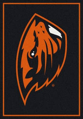 Milliken Team Spirit University Of Oregon State Rug