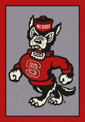 Milliken Team Spirit University Of North Carolina State Rug