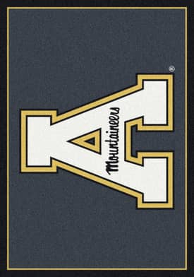 Milliken Team Spirit University Of Appalachian State Rug