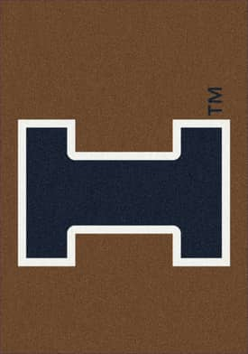 Milliken Team Spirit University Of Illinois Rug