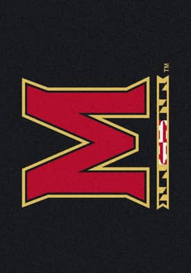 Milliken Team Spirit University Of Maryland Rug