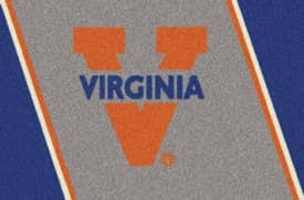 Milliken Team Spirit University Of Virginia Rug