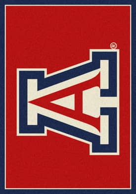 Milliken Team Spirit University Of Arizona Rug