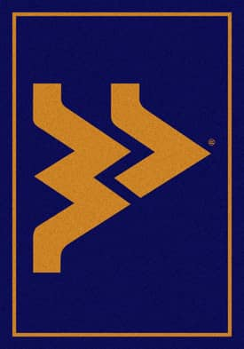 Milliken Team Spirit University Of West Virginia Rug