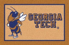 Milliken Team Spirit University Of Georgia Tech Rug