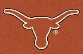 Milliken Team Spirit University Of Texas Rug
