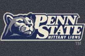 Milliken Team Spirit University Of Pennsylvania State Nittany Lions Rug