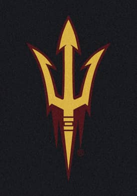Milliken Team Spirit University Of Arizona State Devils Rug