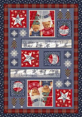 Milliken Seasonal Christmas Cuddles Rug
