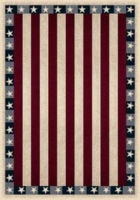 Milliken Seasonal Stars & Stripes Rug