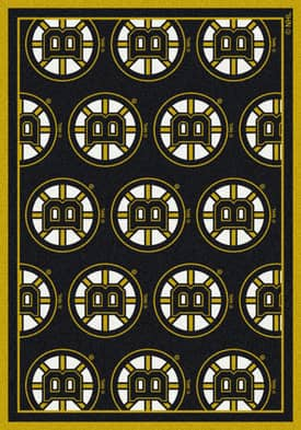 Milliken NHL Team Repeat Boston Bruins Rug