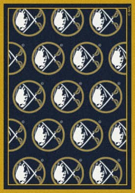 Milliken NHL Team Repeat Buffalo Sabres Rug
