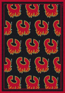 Milliken NHL Team Repeat Calgary Flames Rug