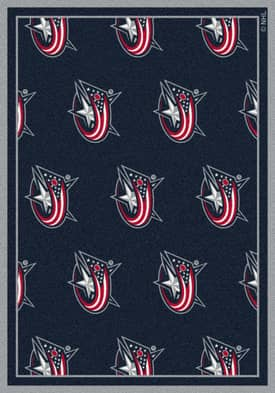 Milliken NHL Team Repeat Columbus Blue Jackets Rug
