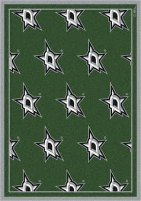 Milliken NHL Team Repeat Dallas Stars Rug