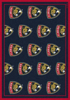 Milliken NHL Team Repeat Florida Panthers Rug
