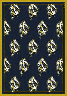 Milliken NHL Team Repeat Nashville Predators Rug