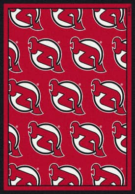 Milliken NHL Team Repeat New Jersey Devils Rug