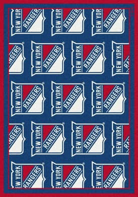 Milliken NHL Team Repeat New York Rangers Rug