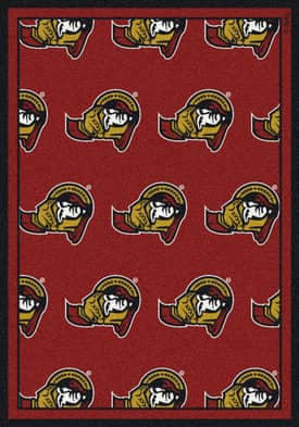 Milliken NHL Team Repeat Ottawa Senators Rug
