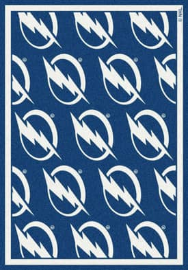 Milliken NHL Team Repeat Tampa Bay Lightning Rug