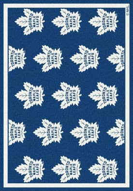 Milliken NHL Team Repeat Toronto Maple Leafs Rug