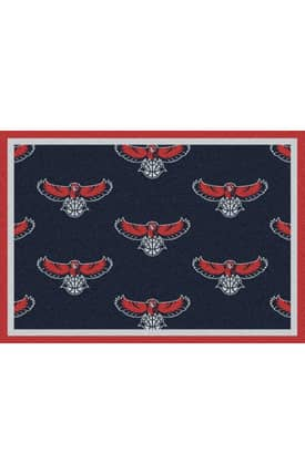 Milliken NBA Team Repeat Atlanta Hawks Rug