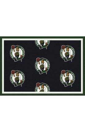 Milliken NBA Team Repeat Boston Celtics Rug