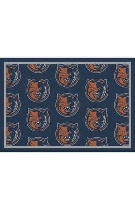 Milliken NBA Team Repeat Charlotte Bobcats Rug