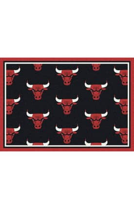 Milliken NBA Team Repeat Chicago Bulls Rug
