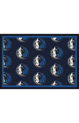 Milliken NBA Team Repeat Dallas Mavericks Rug