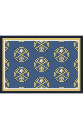 Milliken NBA Team Repeat Denver Nuggets Rug