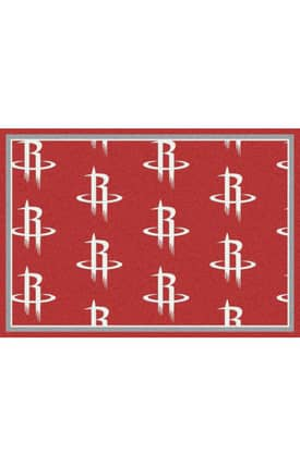 Milliken NBA Team Repeat Houston Rockets Rug