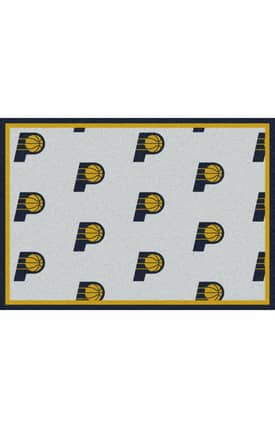 Milliken NBA Team Repeat Indianapolis Pacers Rug