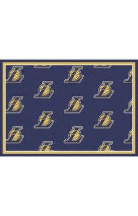 Milliken NBA Team Repeat LA Lakers Rug