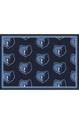 Milliken NBA Team Repeat Memphis Grizzlies Rug