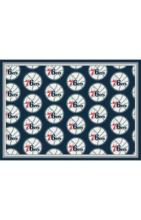 Milliken NBA Team Repeat Philadelphia 76ERS Rug