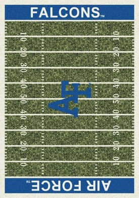 Milliken College Home Field Air Force Falcons Rug