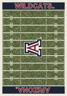 Milliken College Home Field Arizona Wildcats Rug