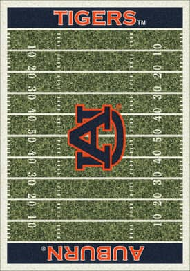 Milliken College Home Field Auburn Tigers Rug