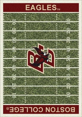 Milliken College Home Field Boston College Eagles Rug