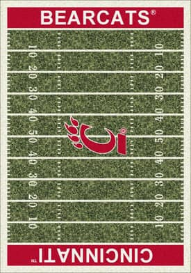 Milliken College Home Field Cincinnati Bearcats Rug