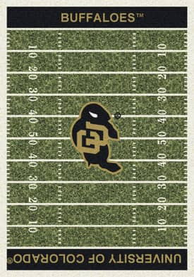 Milliken College Home Field University of Colorado Buffaloes Rug