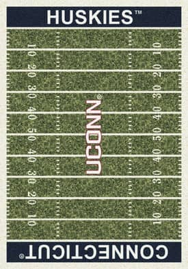 Milliken College Home Field Connecticut Huskies Rug