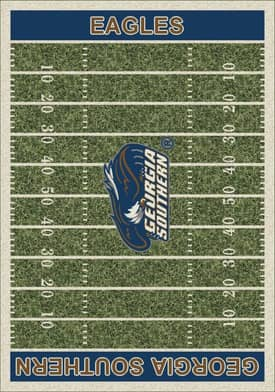 Milliken College Home Field Georgia Southern Eagles Rug