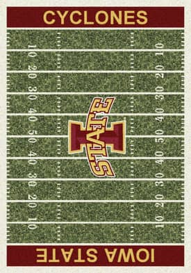 Milliken College Home Field Iowa State Cyclones Rug