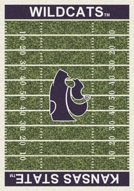 Milliken College Home Field Kansas State Wildcats Rug